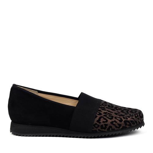 Hassia 301657-7001 bronze side view - Hanig's Footwear