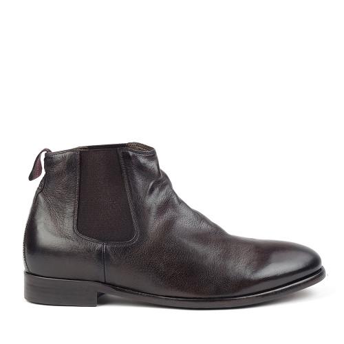 Sturlini 8463 Chocolate side view - Hanig's Footwear