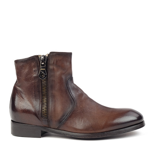 Sturlini 8904 Brown side view - Hanig's Footwear