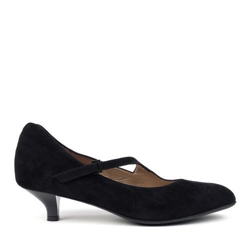 Beautifeel Lilou Black side view - Hanig's Footwear