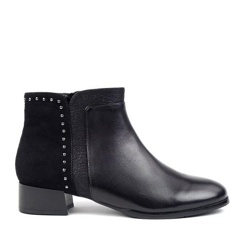 Regarde le ciel Cristion-25 black side view - Hanig's Footwear