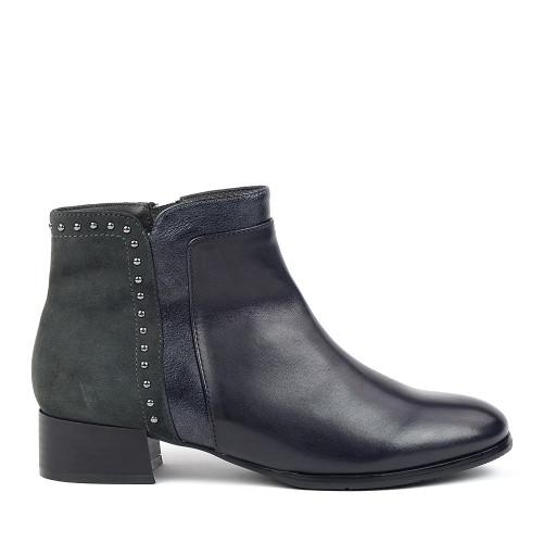 Regarde le ciel Cristion-25 Grey side view - Hanig's Footwear