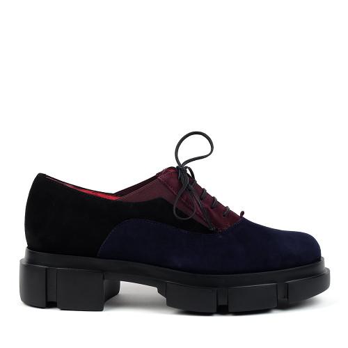 Pas De Rouge 2628 Black Ink side view - Hanig's Footwear