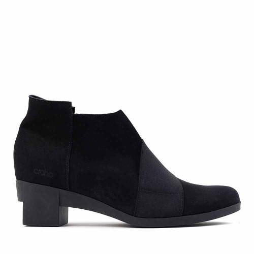Arche Tatebo Black side view - Hanig's Footwear
