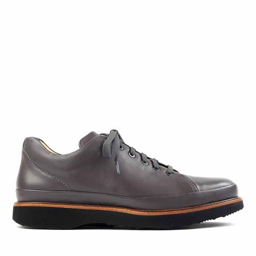 Samuel Hubbard Dress Fast Gray side view - Hanig's Footwear