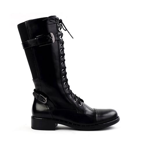 Regarde le Ciel Roxana-10 Black side view - Hanig's Footwear