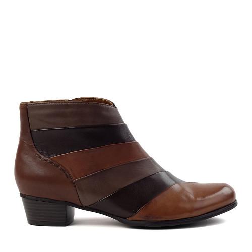 Regarde le Ciel stefany-293 brown side view - Hanig's Footwear