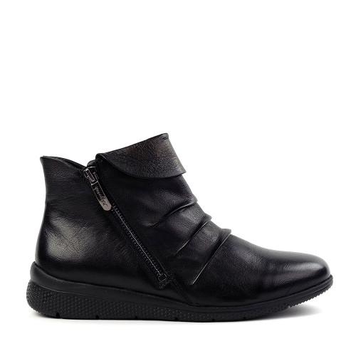 Regarde le Ciel Holly-12 black side view - Hanig's Footwear