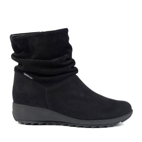 Mephisto boots Agatha Black side view - Hanig's Footwear