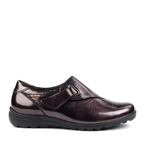 Mephisto Clarisse bronze side view - Hanig's Footwear