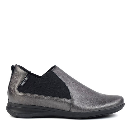 Mephisto Nellie graphite side view - Hanig's Footwear