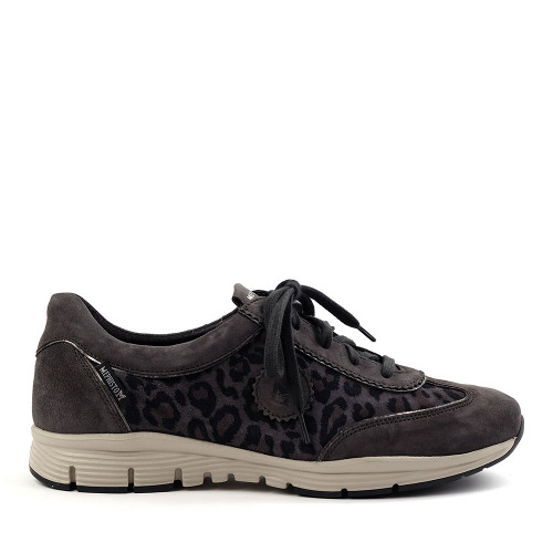 Yael Dark Grey Leopard - Final Sale