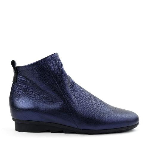 Arche Bibiki Nuit Blue side view - Hanig's Footwear
