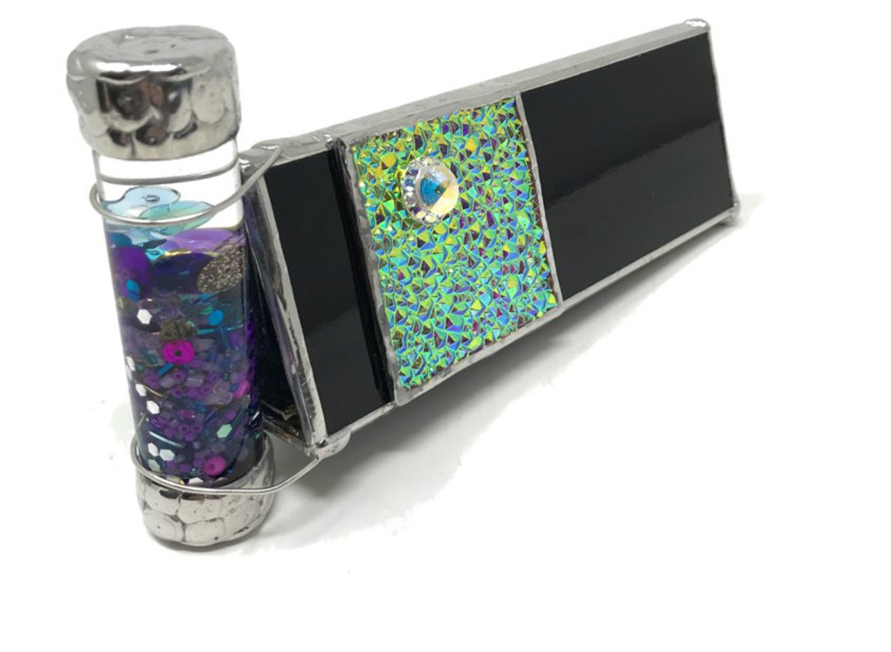 edc97c8bab27 Kaleidoscope 'Black Ops 2' in Stained Glass by Joanne Jacobs - Cape  Kaleidoscopes