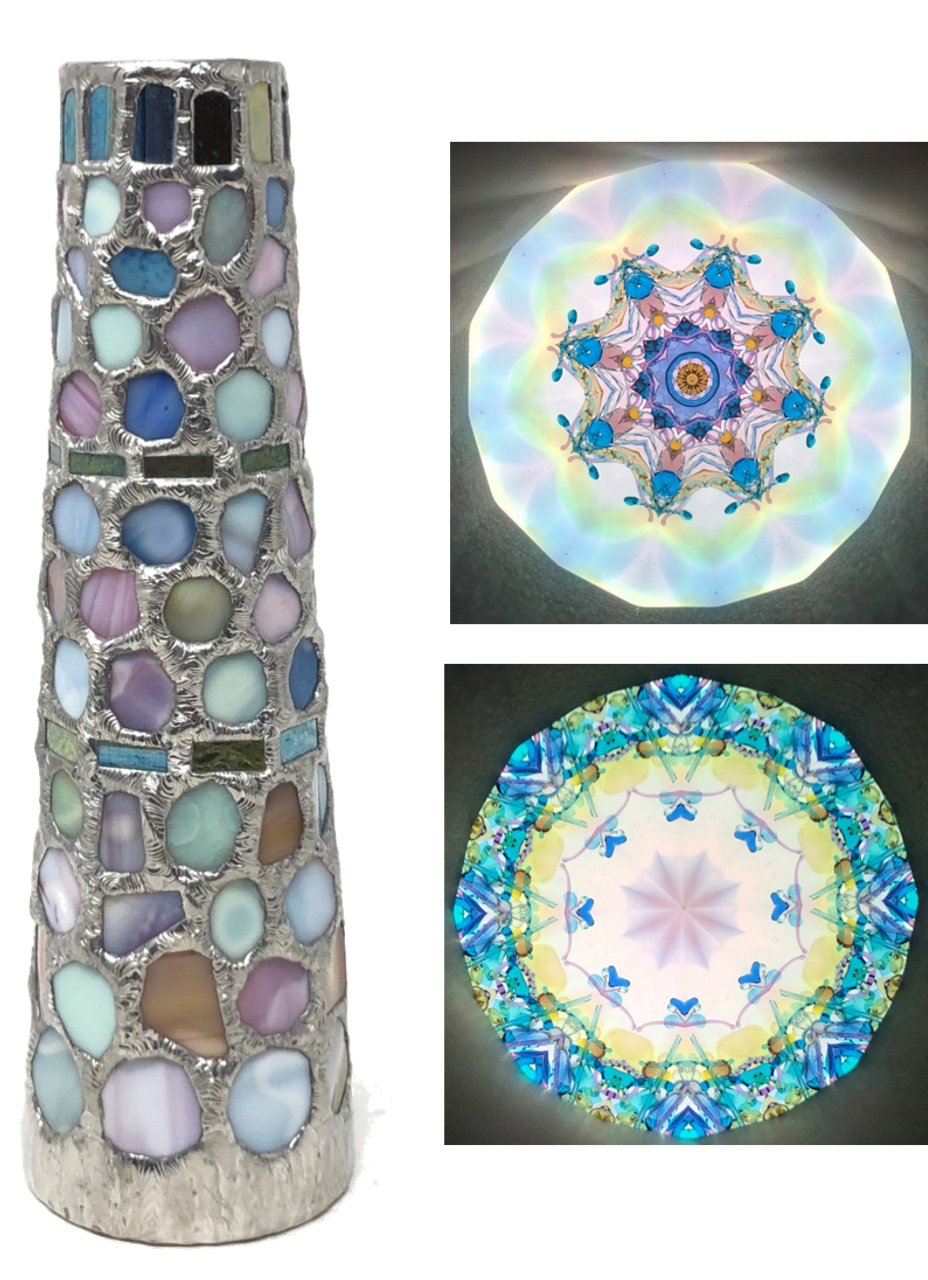 Kaleidoscope - 'Gaudi' large by Koji Yamami - Cape Kaleidoscopes