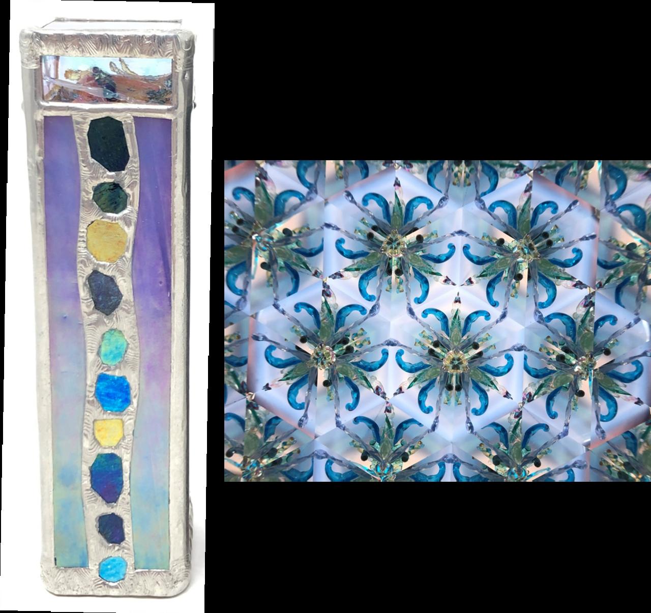 Kaleidoscope - 'Gaudi Square' in Blue by Koji Yamami - Cape ...