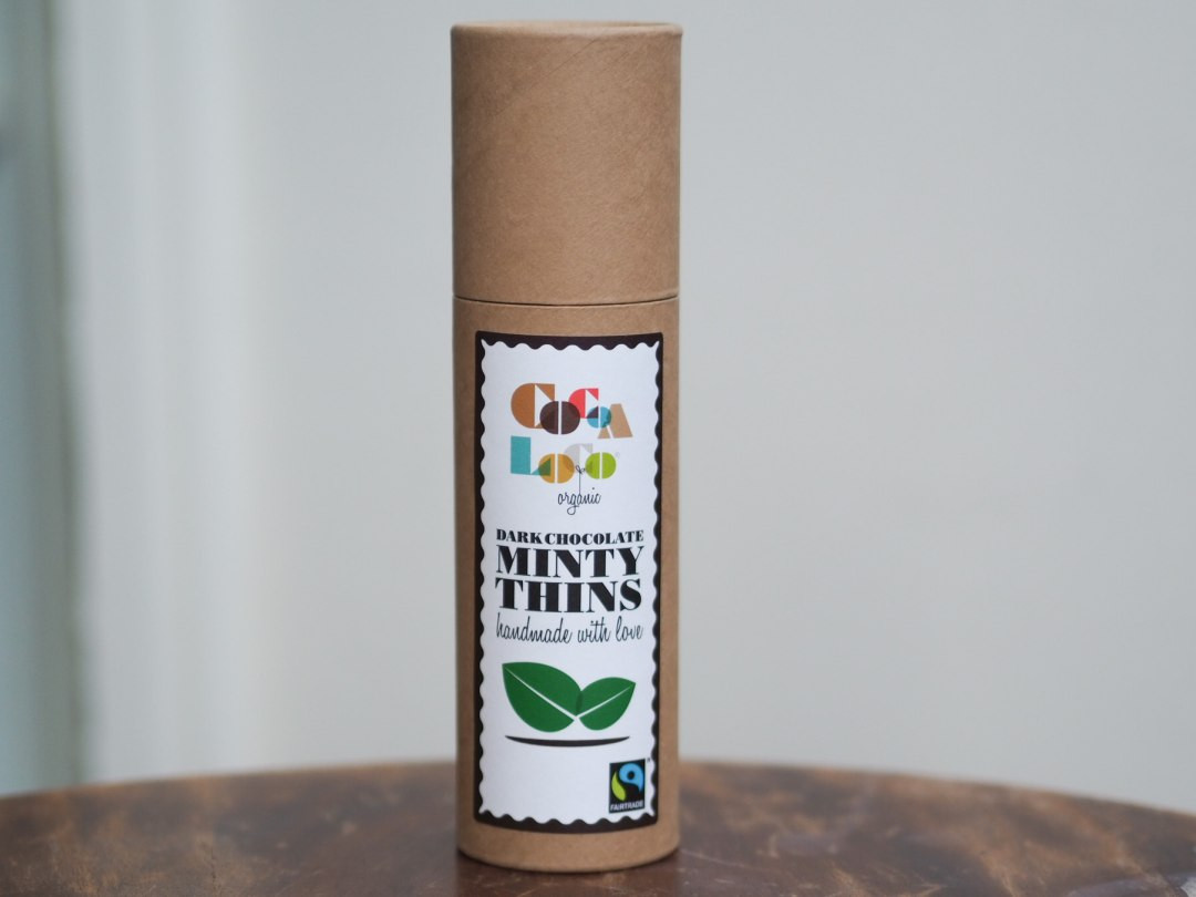 Cocoa Loco Dark Chocolate Minty Thins