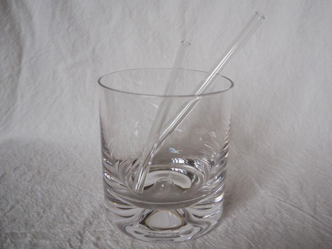 Handmade Glass drinking straws