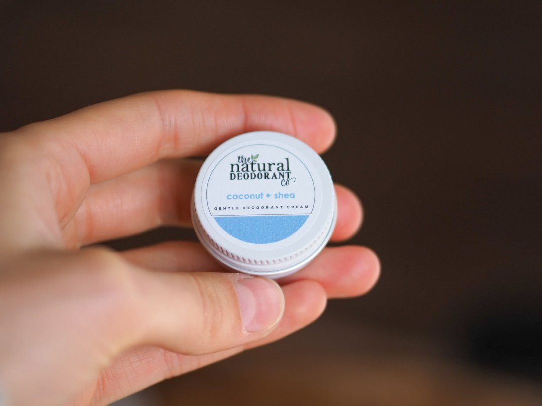 Gentle Deodorant Cream Coconut + Shea Sample 10g