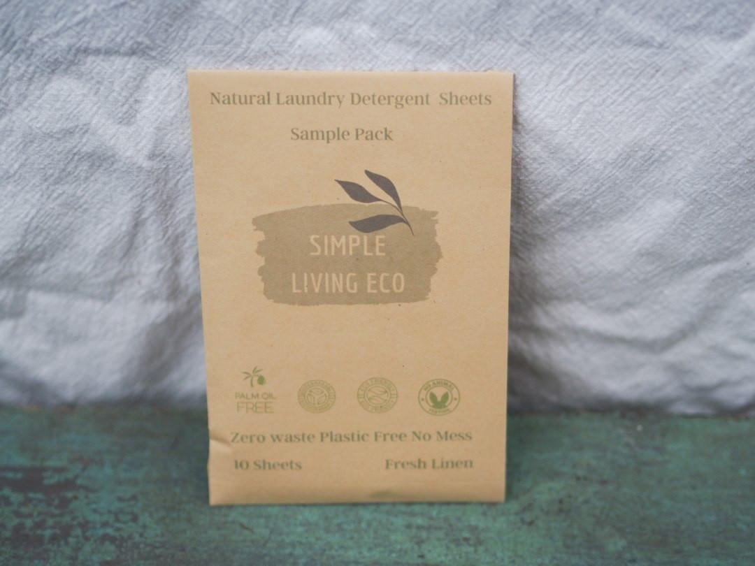Simple Living Eco Laundry Strips - Fresh Linen
