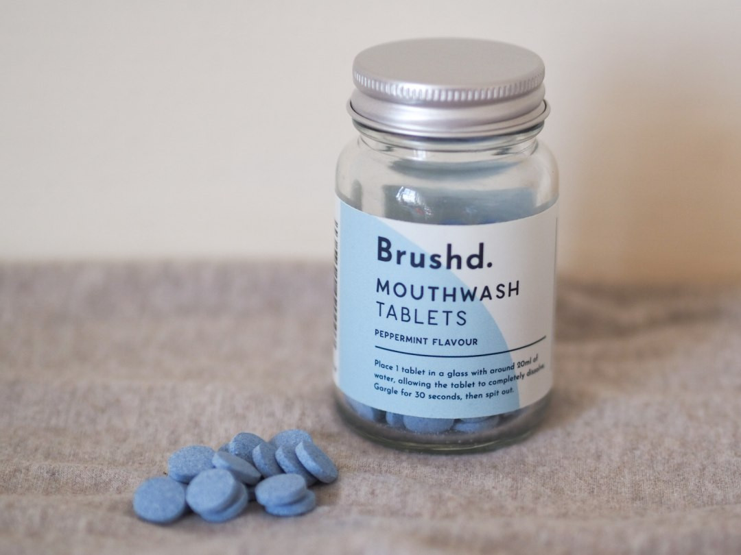 Brushd 120 Mouthwash Tablets Jar