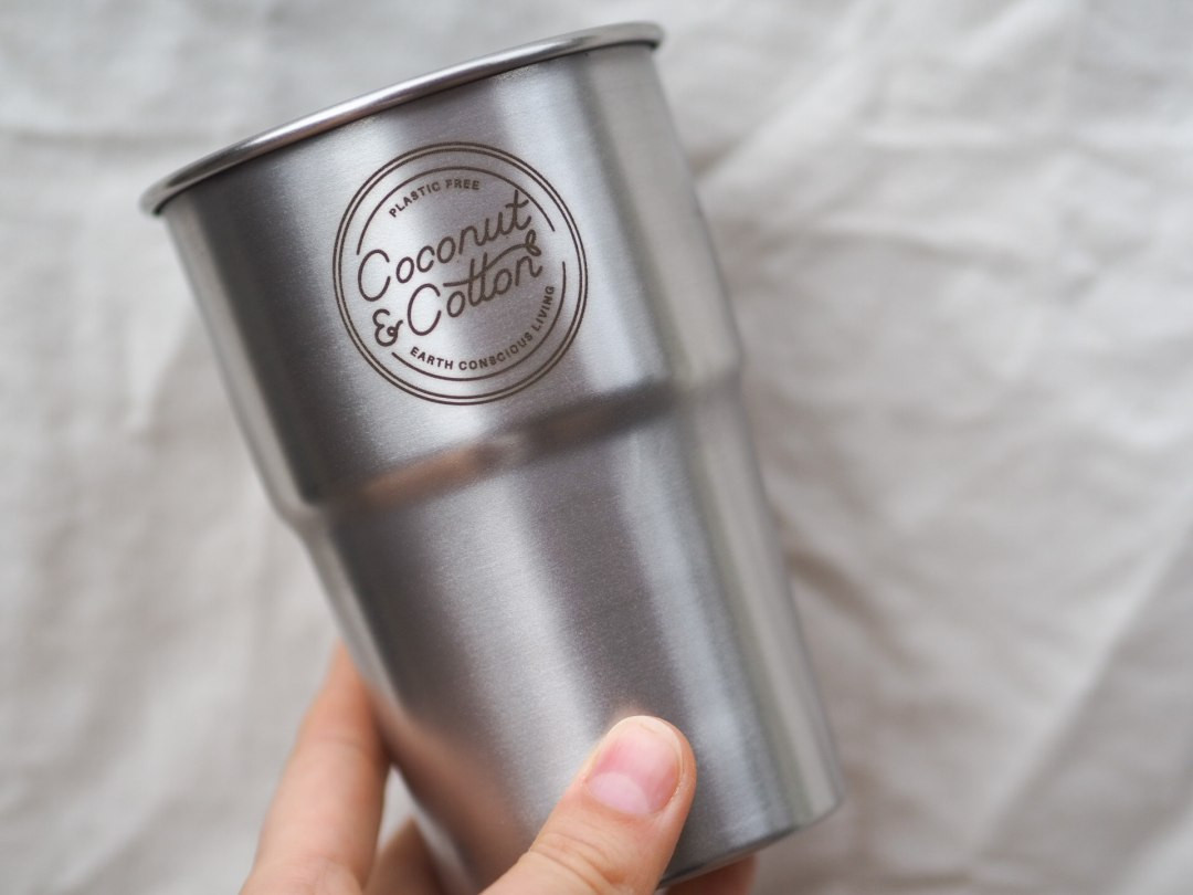 Stainless Steel Pint Cup Stackable