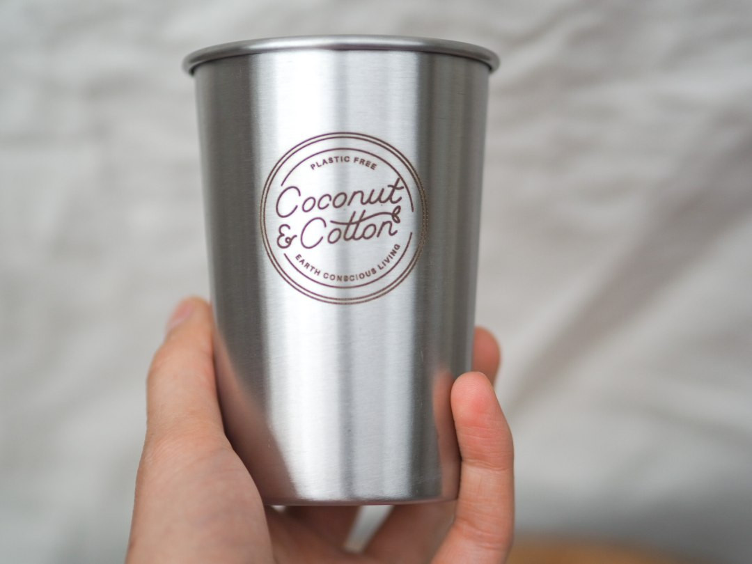 Stainless Steel Half Pint Cup Stackable
