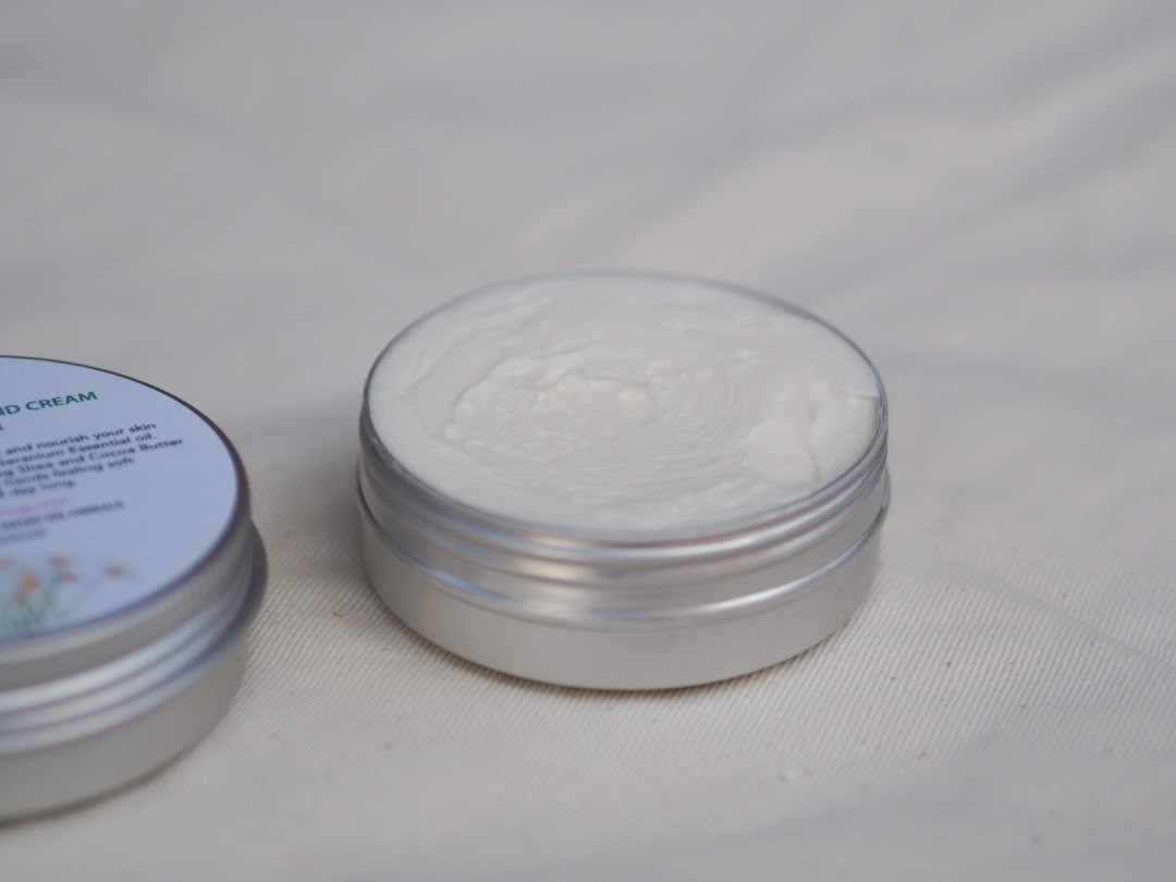Camomile & Geranium Hand Cream with Shea Butter