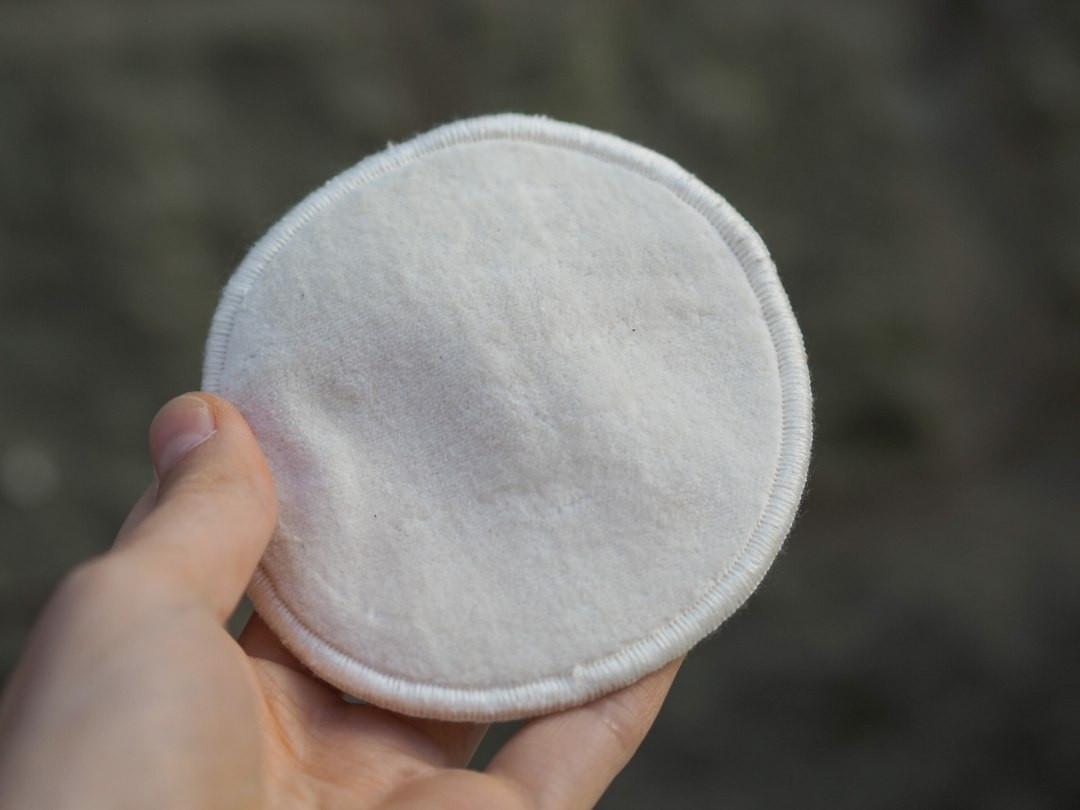 Organic Cotton Large Facial Pads x 5