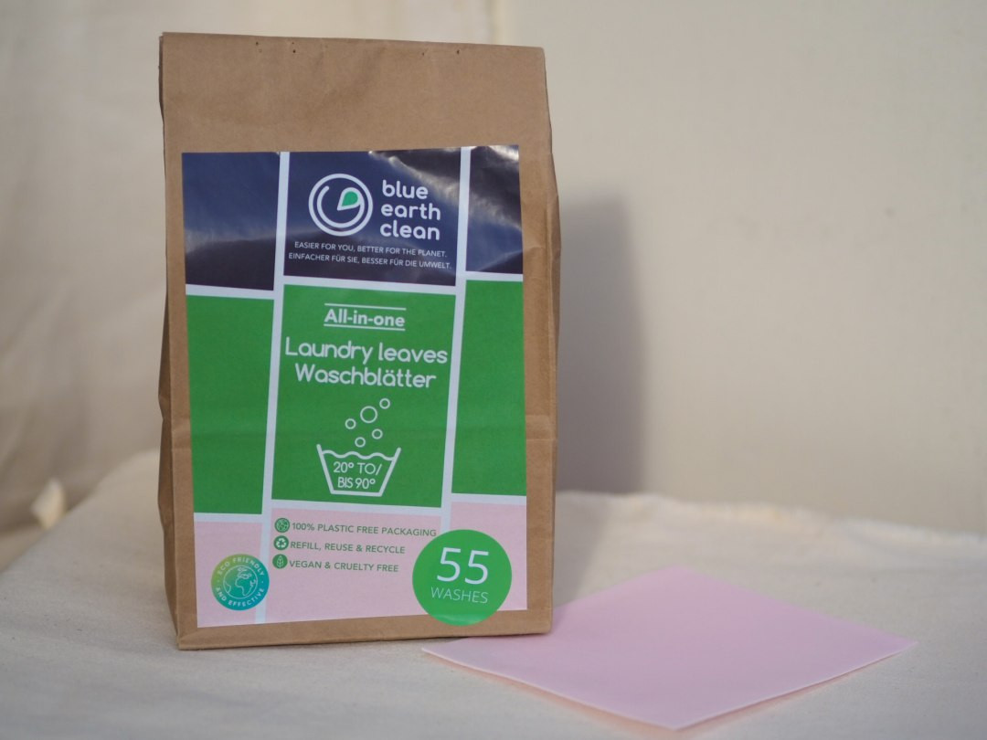 Laundry Strips Blue Earth Clean - Scented