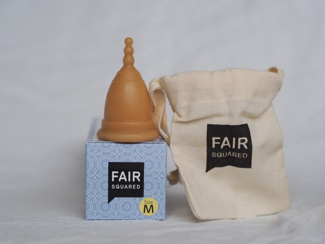 Fair Squared Natural Rubber Period Cup