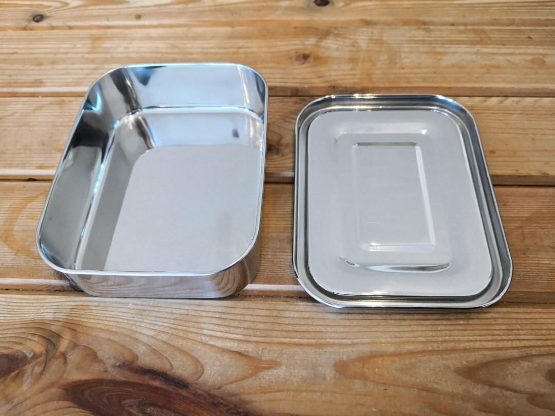 Stainless steel Rectangular lunchbox