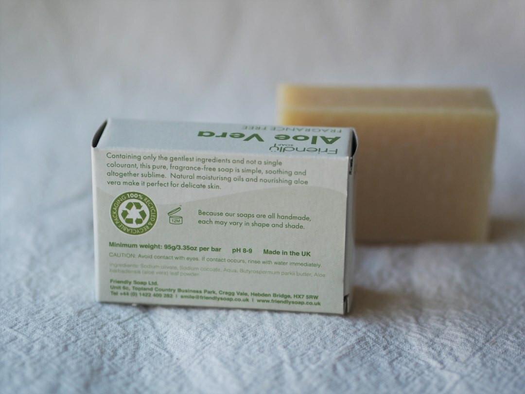 Aloe vera Friendly soap 95g