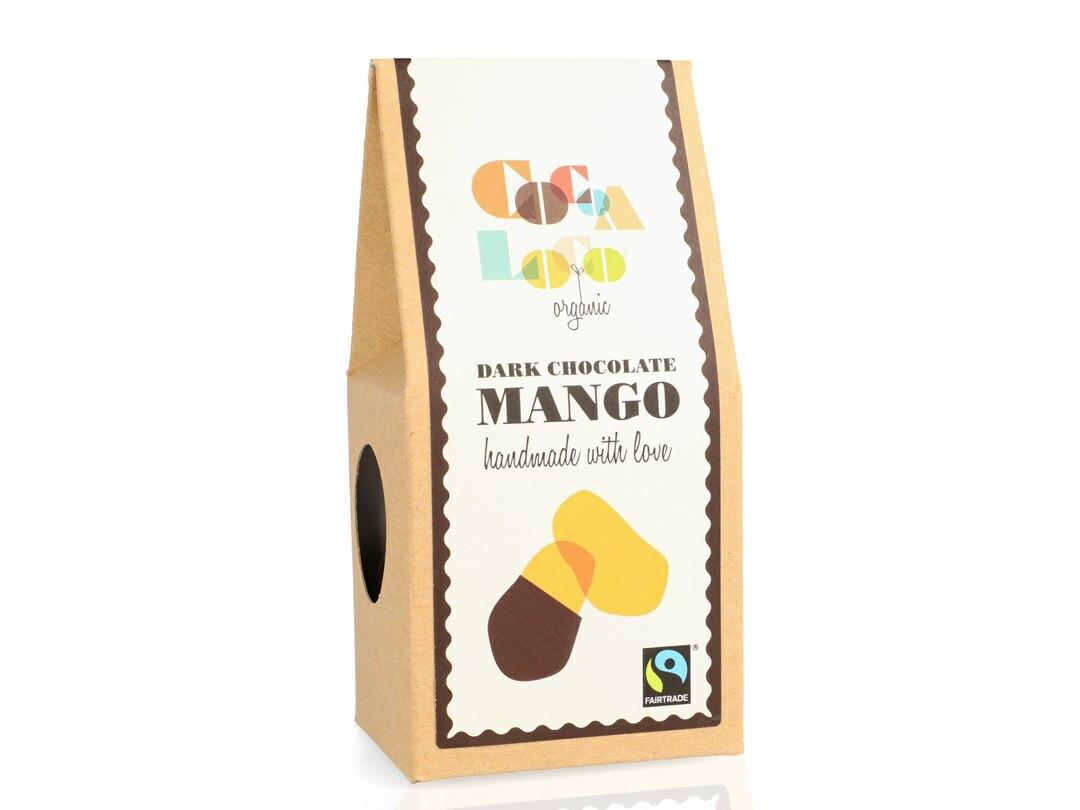 Cocoa Loco Dark Chocolate Mango pieces