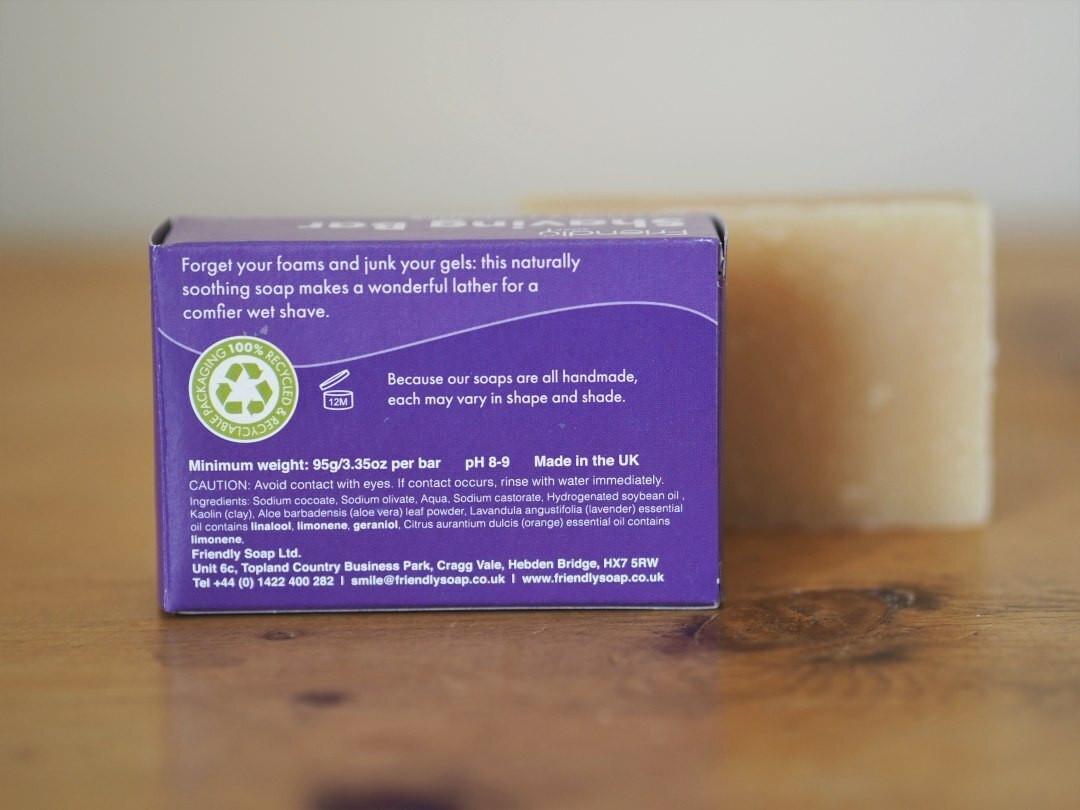 Orange & Lavender Friendly Shaving Soap 95g