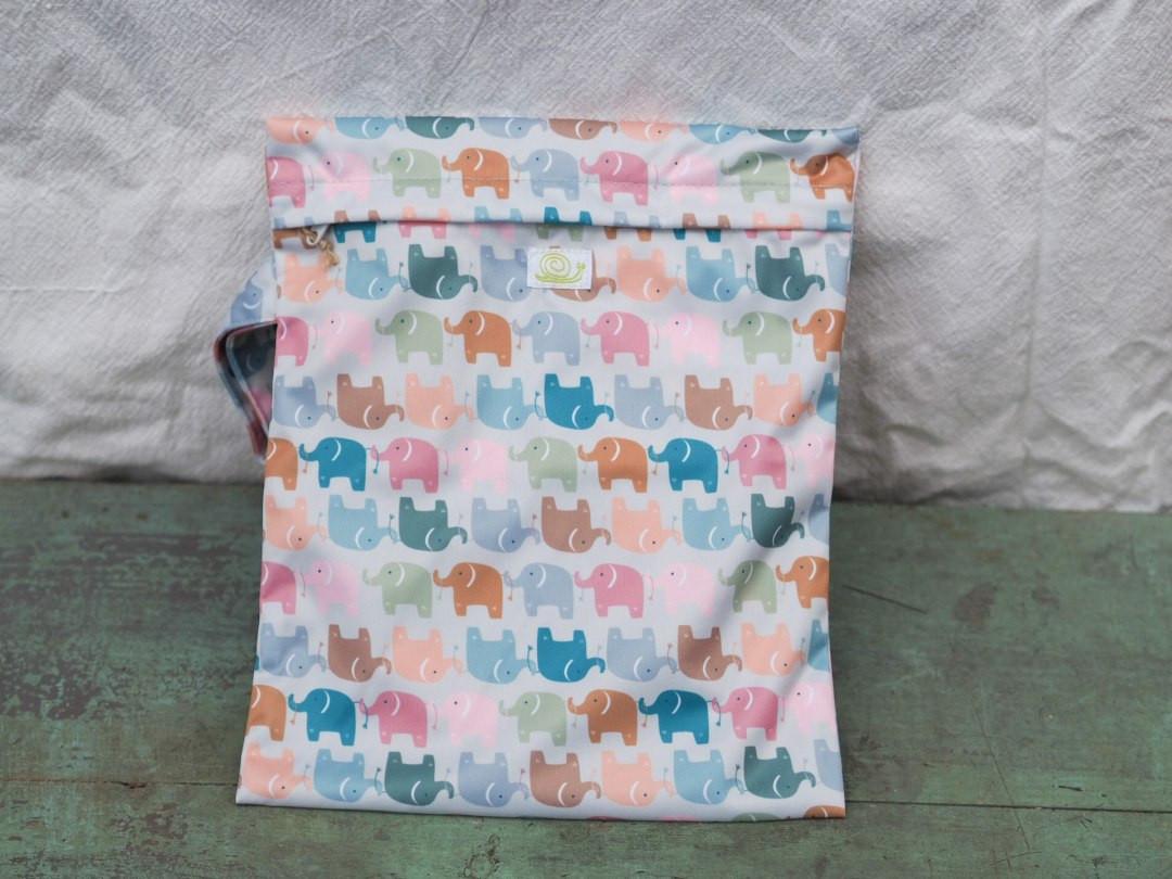 Waterproof reusable storage bags