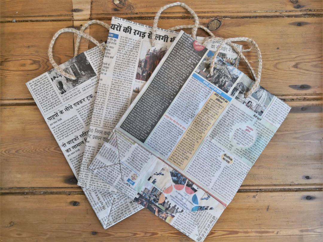 Newspaper bag 25cm x 30cm