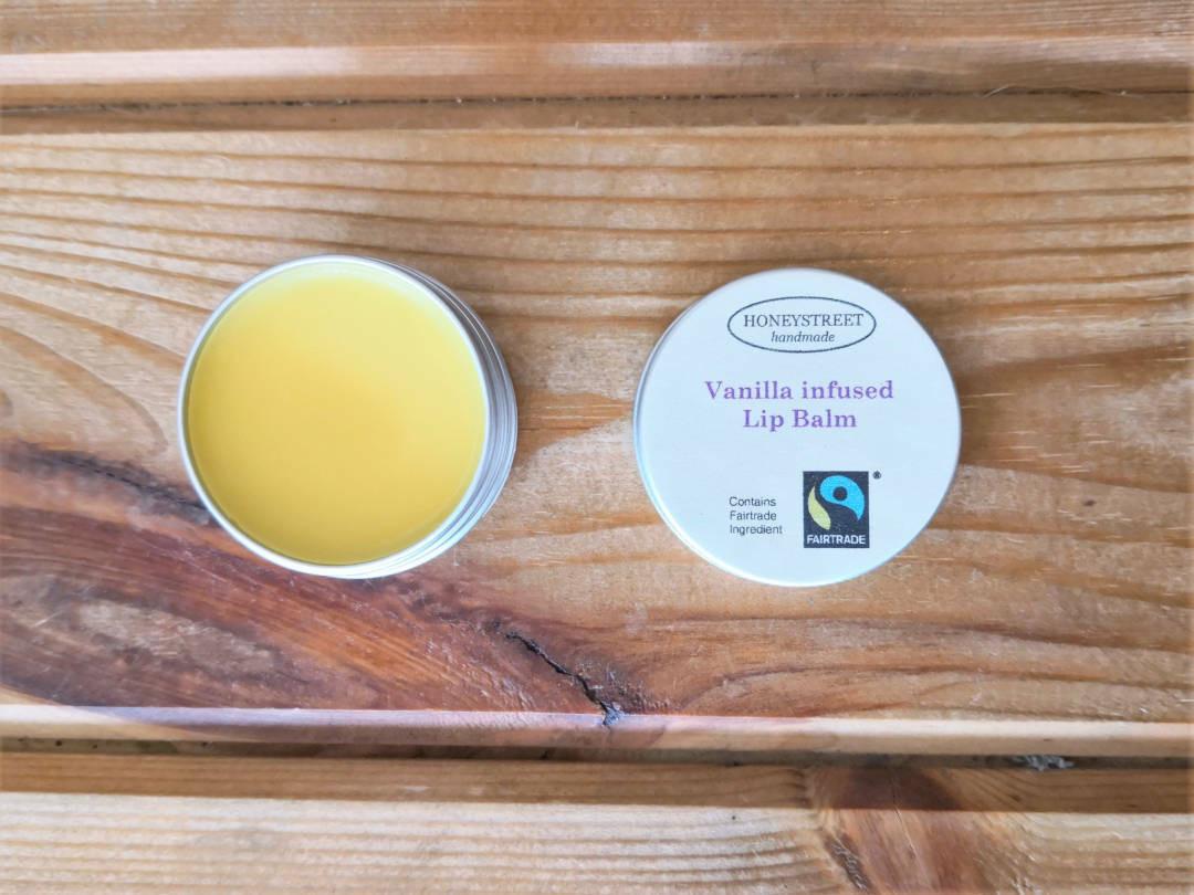 Fair trade Vanilla Lip Balm