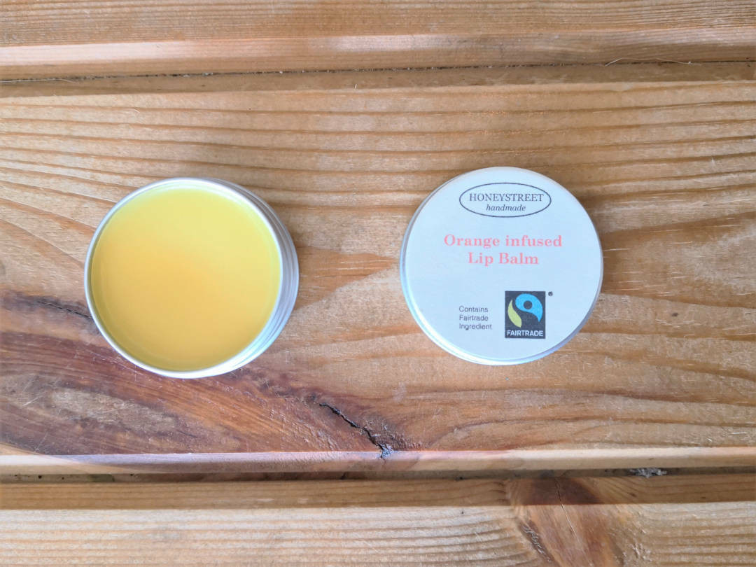 Fair trade Orange Lip Balm