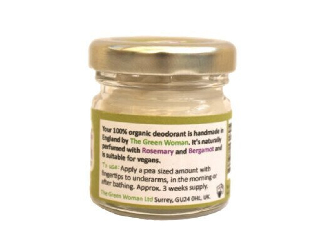 Fit Pit Woman Rosemary Bergamot Deodorant