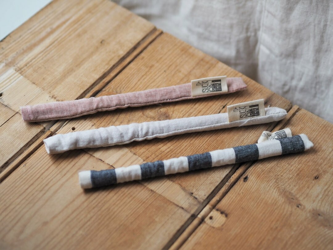 Organic bamboo straw with sleeve