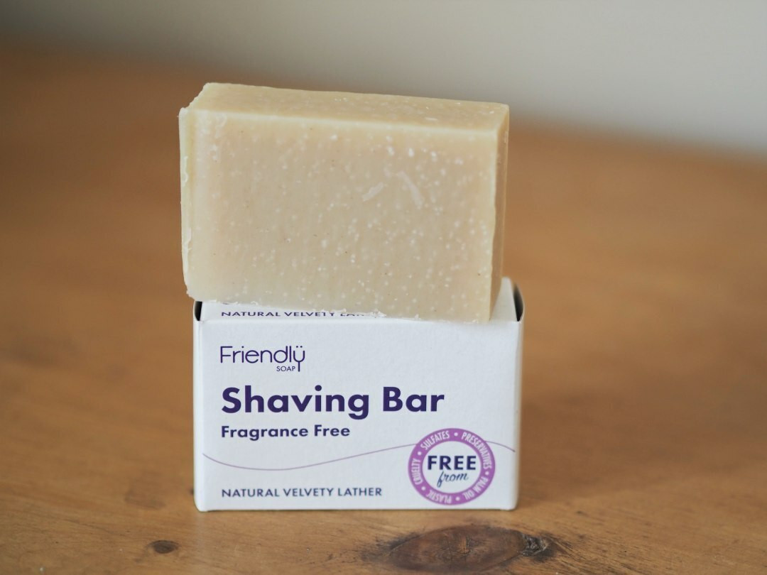 Fragrance Free Friendly Shaving Soap 95g