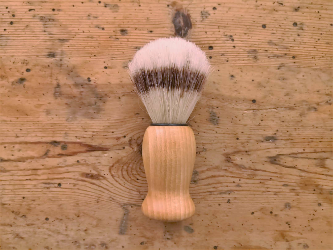 Wooden shaving brush Boar bristle