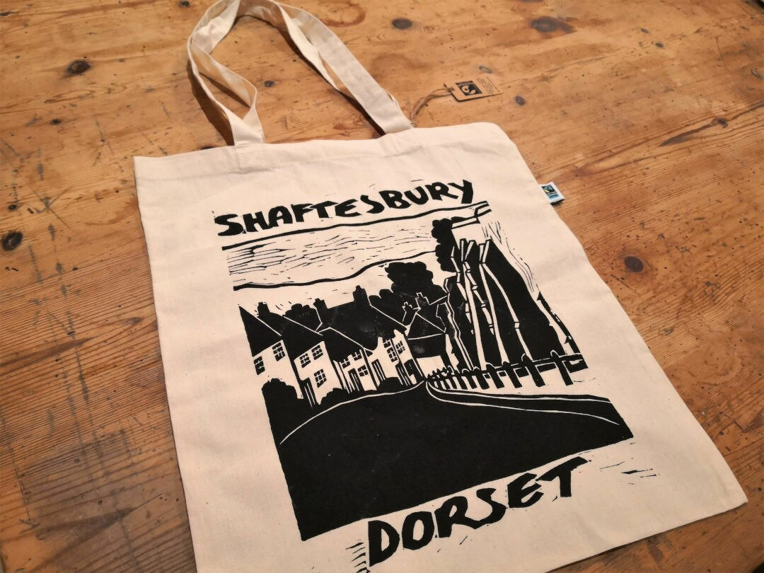 Shaftesbury Organic Cotton Shopper bag