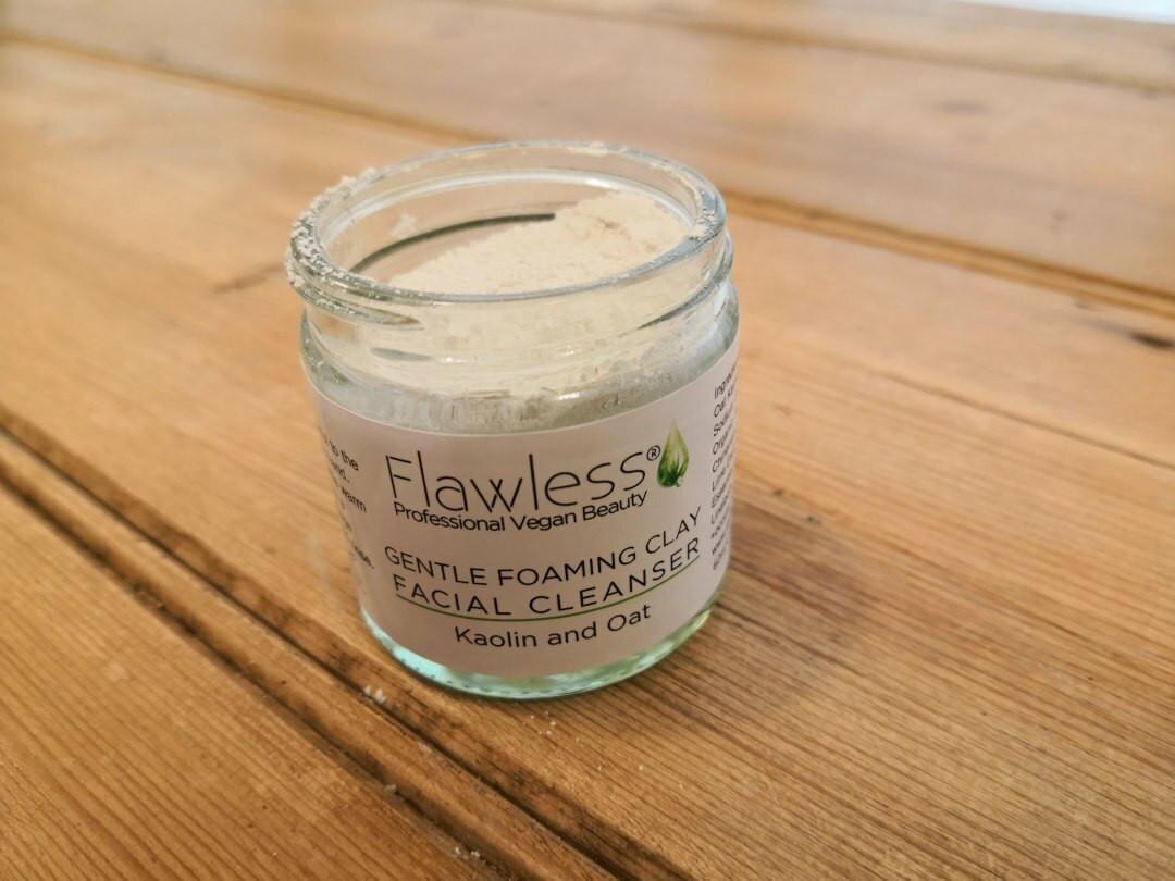 Kaolin & Oat Foaming clay facial cleanser 60ml