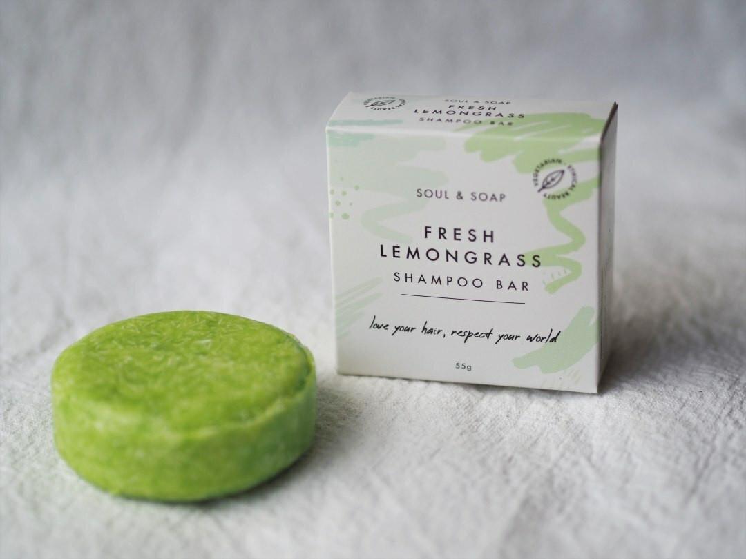 Lemongrass Shampoo and Conditioner bar 55g