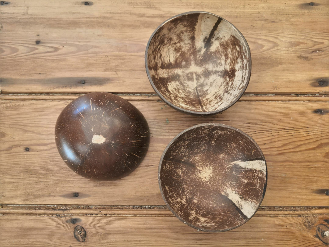 Natural Coconut bowl - Large