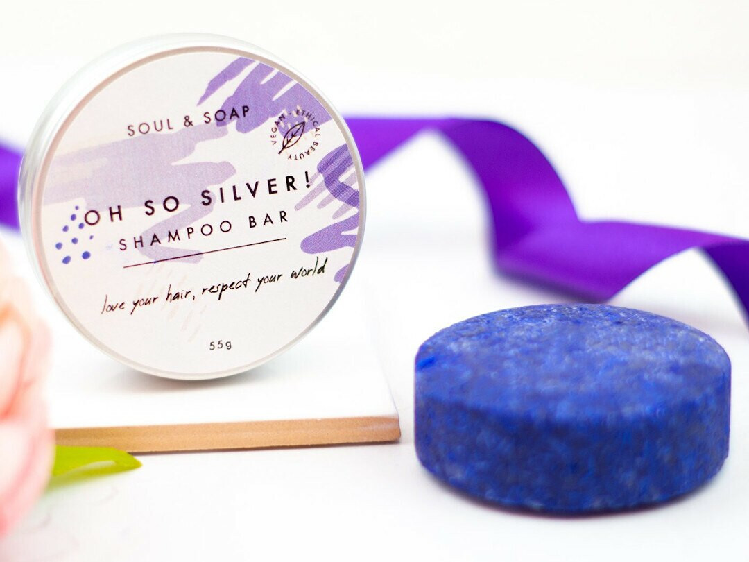 Silver Shampoo and Conditioner bar 55g