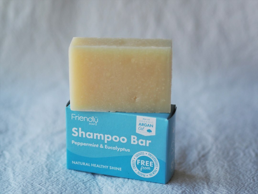 Peppermint & Eucalyptus Friendly Shampoo Bar 95g