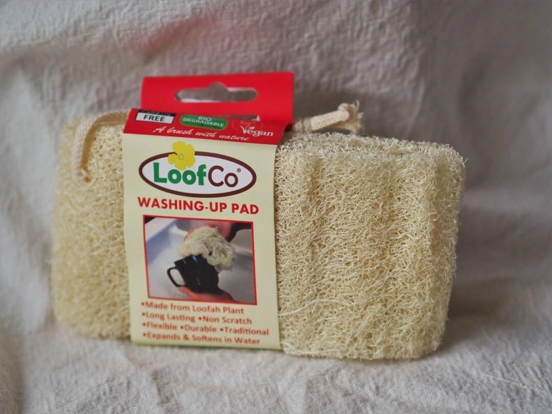 Loofco Washing up pad Loofah on a Rope